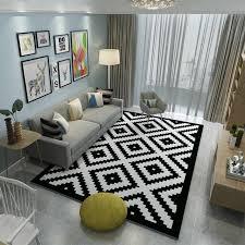 tapis chambre à coucher marque tapis chambre à coucher tapis lavable tapis noir blanc