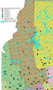 Maine Maps Sand U0026 Salt Pile Program Priority Maps Somerset Maine