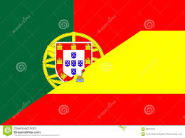 Spain Flags Portugal Spain Flag Stock Image Image Of Portugal Nation 88243729