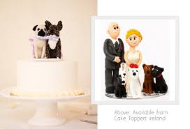 bulldog cake topper 11 awesome wedding cake toppers weddingsonline