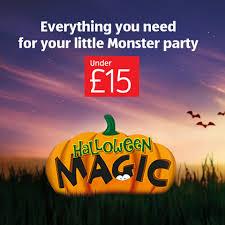 halloween party aldi uk
