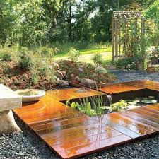 how to build a garden pond and deck family handyman