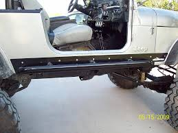jeep rock sliders rock slider opinions and recomendations jeep cj forums