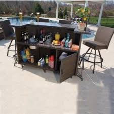 Patio Bar Table Outdoor Patio Bars For Sale Foter