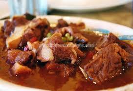 recettes de cuisine antillaise ragoût de porc de noël