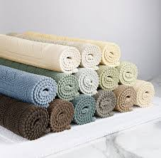 Restoration Hardware Bath Mats Cotton Woven Bath Rug