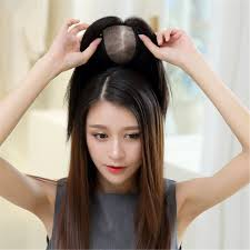 ladies hair pieces for gray hair amazon com remeehi silk base human hair toppers for thinning