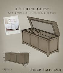Build A Toy Box Bench by Build A Diy Filing Chest U2039 Build Basic