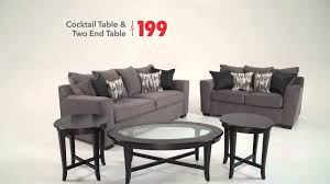 skyline living room in the huddle bob u0027s discount furniture youtube