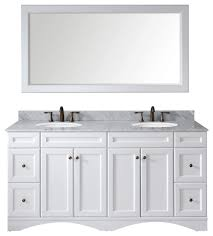 talisa 72 bathroom vanity set white transitional