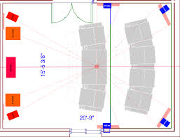 home theater speaker placement surround speaker options and overall placement for 2 row theater
