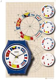 Nautical Flags Test The Secret Design History Of Swatch Watches Design Week