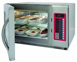 four cuisine professionnel four micro ondes professionnel 2 niveaux inox 35l