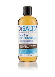 dead sea bath and shower gel recharge and stimulate dr salts dead seabath and shower gelrecharge