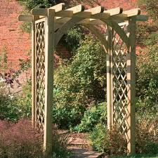 Wedding Arches Buy Garden Trellis Pergola Premier Pergola Arch Buy Fencing Direct
