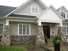 Pinterest For Houses by Rock Accent Exterior Of Stone Veneer To Choose From For Your