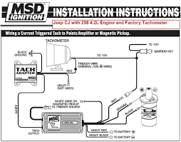 msd tachometer wiring diagram wiring schematics and wiring diagrams