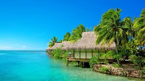 wallpapers tagged with bungalow hotel ocean lagoon reef sand