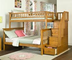 twin over full bunk beds stairs ideas space saver modern bunk