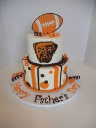 brown s day cleveland browns jersey cake