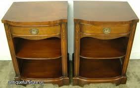 antique pair drexel mahogany nightstands at antique furniture us