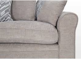 Slipcover For Pillow Back Sofa by 4 Seater Grey Fabric Pillow Back Sofa Trinity