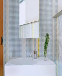 los angeles tile mosaic designs powder room modern with pivot