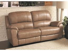 Power Leather Recliner Sofa Bassett Godfrey 3700 P62m Leather Power Reclining Sofa