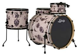 ludwig corey miller tattoo 4 piece drums