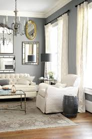 Impressive Nuance Impeccable Living Room Decoration Featuring Impressive White Sofa