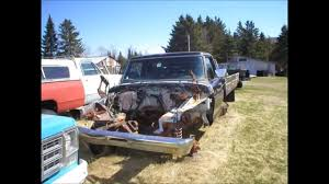 Old Ford Truck Junkyard - old ford trucks from the 70s youtube