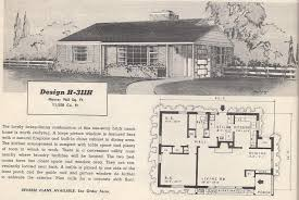 interesting 1950s house floor plans gallery best inspiration