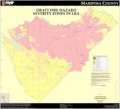 california map pdf cal mariposa county fhsz map