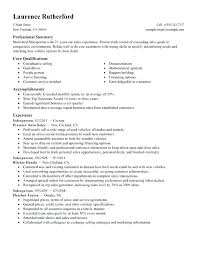 sample resume accomplishments u2013 topshoppingnetwork com
