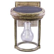 gama sonic solar lights gama sonic solar coach 1 light weathered bronze outdoor wall lantern
