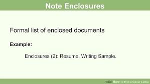 How To Write A Resume Cover Letter Examples by How To End A Cover Letter 15 Steps With Pictures Wikihow