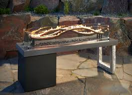 how to build a fire pit table modern how to make an outdoor gas fireplace with diy pete build a