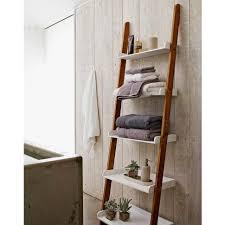 shelves in bathroom ideas bathroom rustic bathroom vanities towel ladder wood over the