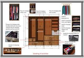 Wardrobe Interior Accessories Bhavika Goyal B Sc Interior Design Wardrobe Planning Work