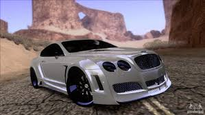 bentley 2008 bentley continental gt premier 2008 v2 0 for gta san andreas