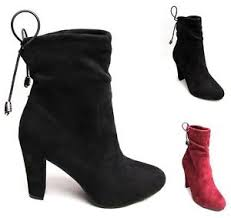 womens fashion boots uk womens fashion boots drawstring toe ankle heels suede lace