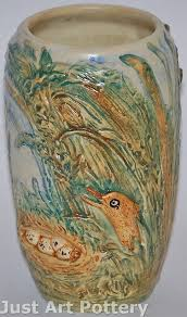 Weller Pottery Vase Patterns 14 Best Weller Pottery Images On Pinterest Weller Pottery