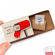 in a box unique gift cards sprybag