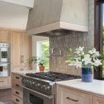 How To Whitewash Oak Kitchen Cabinets Whitewash Oak Cabinets Oak Cabinets And A Stucco Hood Add Texture