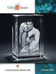 Personalized Wedding Photo Frame Personalized Wedding Picture Frames Crystal Cube With Couple