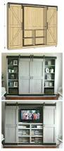 ana white sliding door cabinet for tv diy projects best made