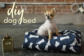 Diy Dog Bed Diy Dog Bed Tutorial This Quick And Easy Tutorial Gives You The