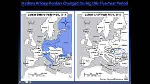 Europe Map Ww1 Map Of Europe After Wwi Howell World History In Before And Ww1
