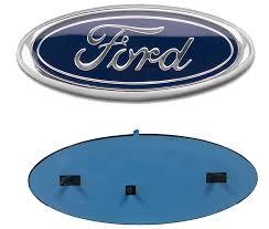 ford old logo amazon com 2005 2014 ford f150 dark blue oval 9