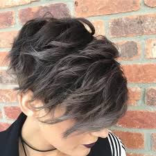 how to blend in gray hair with brown hair 40 stunning grey hair trend ideas draw extra attention